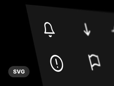 (.svg) Animated Icon Pack, Soon... activity download flag error bell javascript web vector svg animation icon