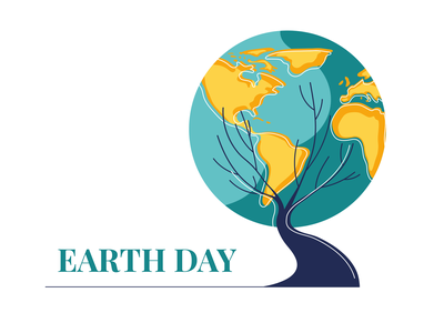 Earth Day planet earth ecology nature planet earth day earth vector illustration