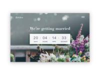 Countdown to Wedding 💍