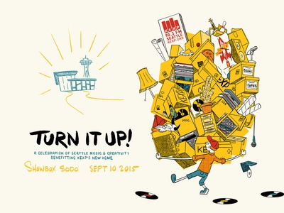 KEXP Turn it Up poster