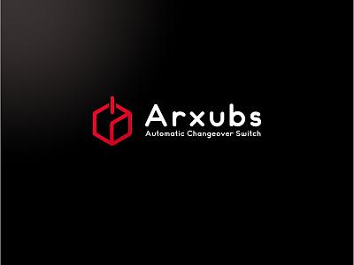 Arxurbs Automatic Changeover Switch Logo brand identity switch logo