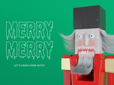 MERRY MERRY octane octanerender characterdesign character substance painter c4d 3danimation 3d wood toy toy design toy nutcracker merrychristmas merry xmas merry