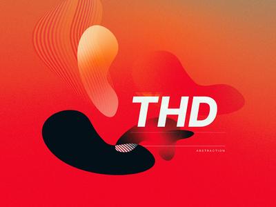 THD photoshop typo art cover distortion digital graphic  design illustrator adobe