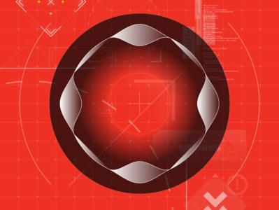 [ Portal ] motiongraphics game cockpit code data adobe uidesign design illustration illustrator graphic design fuidesign gui hud fui ui