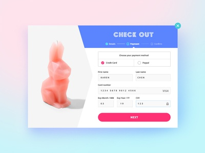 Daily UI 002 / Check out design ui check out daily ui 002
