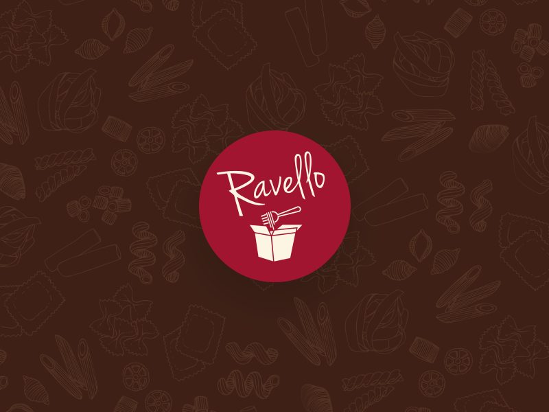 Ravello pasta to go fast food branding fast food logo branding logo design ravello italian food restaurant pasta to go pasta fast food