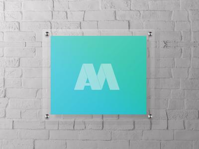 Mock up acrylic sing wall holder acrylic mockup sing holder mockup wall holder mockup holder acrylic