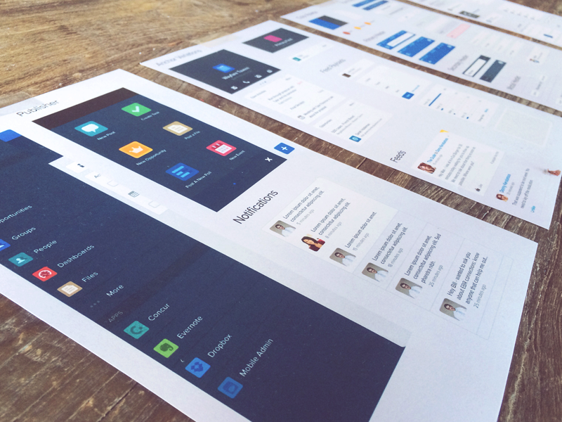 Salesforce1 UI Kit style guide ui kit components elements app mobile salesforce