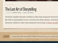 Storytelling Site