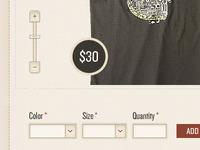 Shop UI Elements