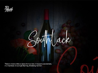 Southlack Signature Style Font