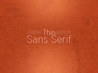 Font Collection Thin Sans Serif Lead Image