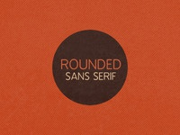 Rounded Sans Serif Lead Image