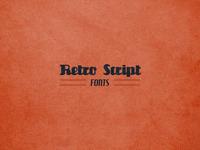 Fonts Collection Free Retro Script Fonts