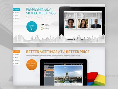 PGi Elements website design