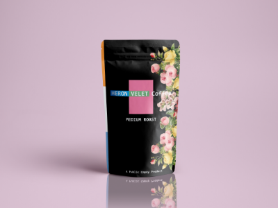Coffee Pouch- Mock Up