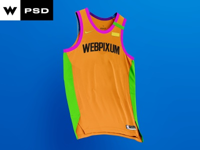 2.0 Ghost Basketball Jersey Front & Back jersey nab basketball design mockup concept branding logo sports