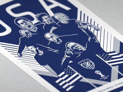2014 us world cup poster