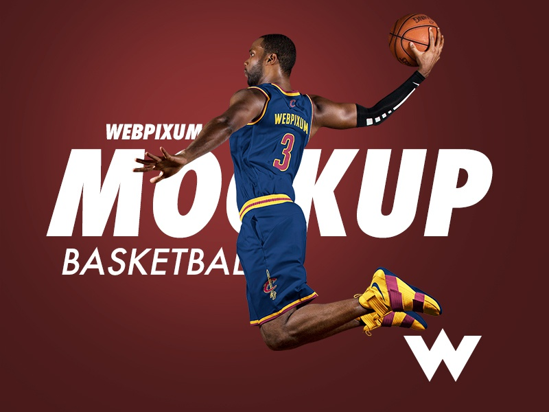 FREE NBA Mockup Template [PSD] by Brandon Williams ...