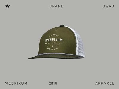 Brand Swag 🔥 swag brand branding apparel cap webpixum typography hat