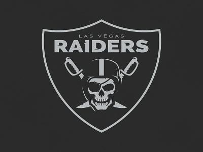Las Vegas Raiders Reband Concept design nfl concept sports branding football logo