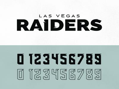 Las Vegas Raiders Reband Concept typography team mockup nfl concept branding football sports logo