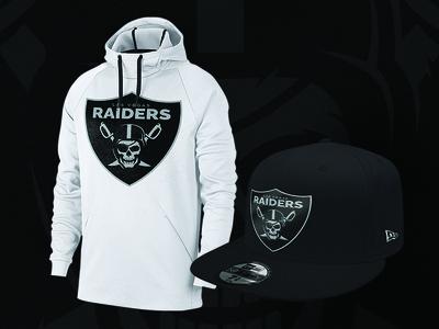 Las Vegas Raiders Reband Concept appareal typography design nfl concept branding football sports logo