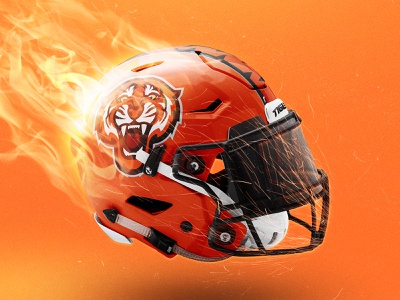 SpeedFlex Football Helmet Mockup logo sports edit fire psd mockup football sports branding design