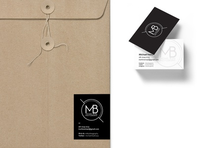 Business card and Envelop