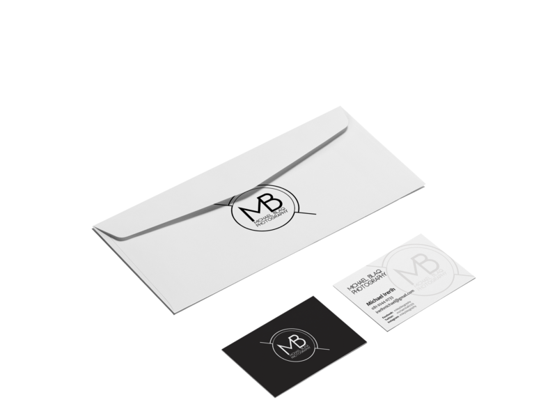 Business Card & Envelop photography envelope mockup business card design graphicsdesigner branding