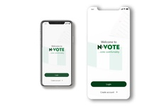 Launch screen for a Voting /Election app