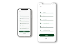 Sign up Page for Voting/Election App