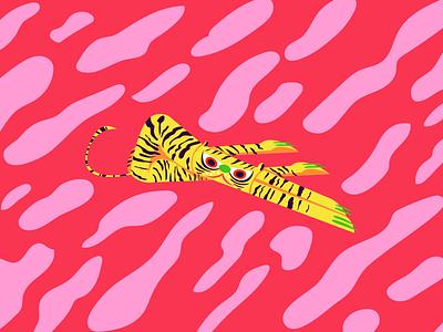 Tiger Alebrije mexico adobe illustrator illustration alebrije tiger
