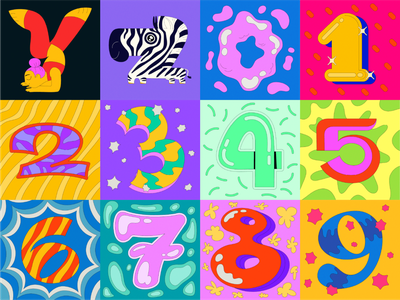 36 Days of Type 2021 alphabet lettering stickers 36dayoftype