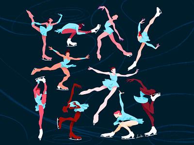 Figure Skating gesture dynamic olympics figureskating sports