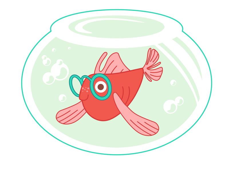 Fish fish charactedesign