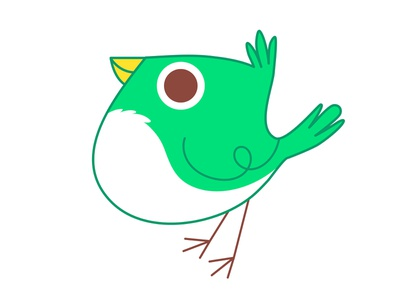 Bird bird characterdesign