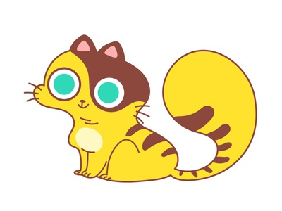 Cat cat chatacterdesign