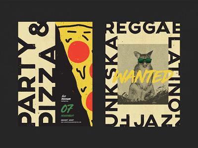 Fat Possum Orchestra / 01 orchestra band jazz ska reggae australia sydney branding music poster design fat possum fat possum orchestra