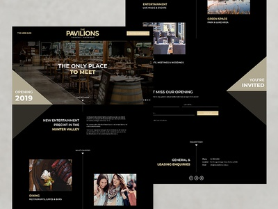 Landing Page for The Pavilions The Vintage