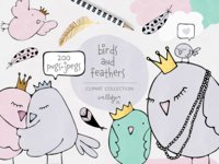 Birds Clipart Set By Wallifyer