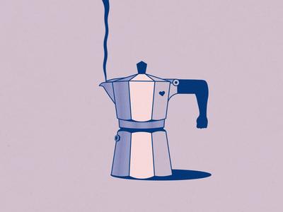 Damn strong coffee