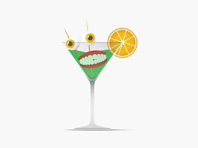 Summer vibe. drinks denture drink martini abstract motion graphic animation 2d loop motion design animation illustration
