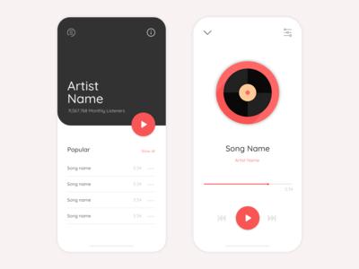 Daily UI - Music Player