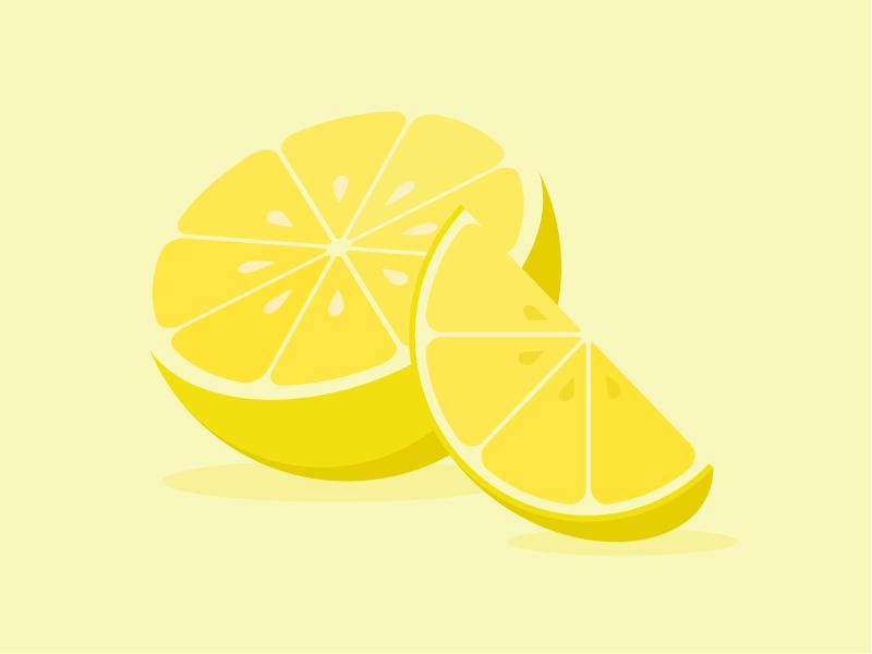 Lemon dribbble