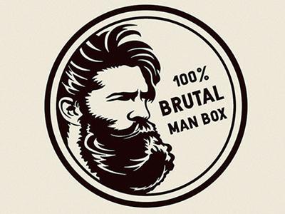 100% Brutal Man Logo