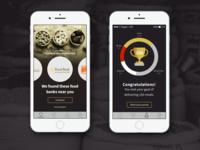 Benefeed: food-drive organization app