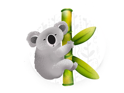 """""""K"""" is for Koala itchy belly"""