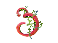 Triple Puff Caterpillar
