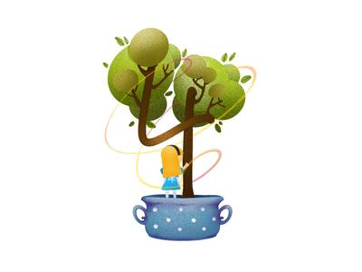 Fourth Bonsai of Wonderland